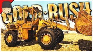 FRONT END LOADER & MAGNETITE! - Gold Rush: The Game - Ep.08