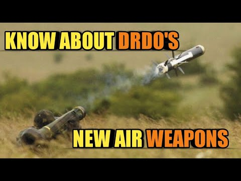KNOW ABOUT DRDO'S NEW INDIGENOUS AIR WEAPONS