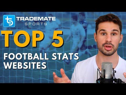 Top 5 Best Websites for Football Stats & Data