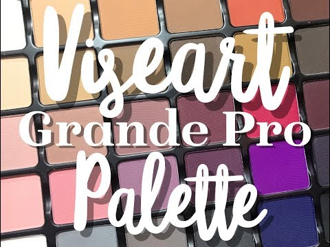 Viseart Grade Pro VOL 1 Review + Swatches + Tutorial | KelseeBrianaJai
