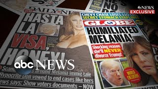 Melania Trump: Alleged infidelities 'not concern and focus' of hers thumbnail