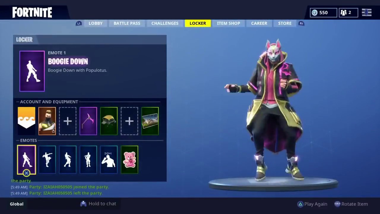 ENABLE 2FA TO GET NEW BOOGIE DOWN EMOTE! || Fortnite BR ...