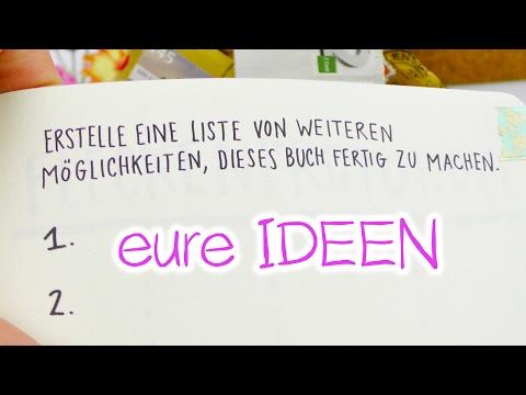 MACH DIESES BUCH FERTIG | Wir brauchen eure IDEEN!!! & die DIY Briefmarken Seite