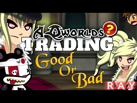 TRADING IN AQW!「Good Or Bad?」AdventureQuest Worlds
