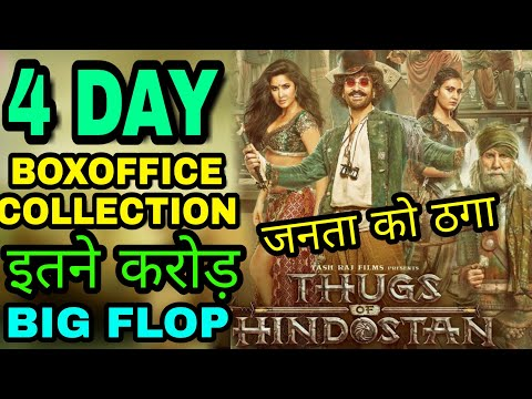 Thugs of Hindostan 4th day Boxoffice Collection, Thugs of Hindostan Collection Report, Aamir khan