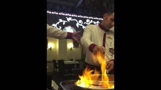 كنافه مطعم المدينه اسطنبول
