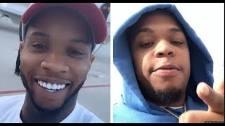 Don Q & Tory Lanez Beef It Out On IG Live, Don Q Disses Tory Lanez Claims He Keep Stealing His Bars