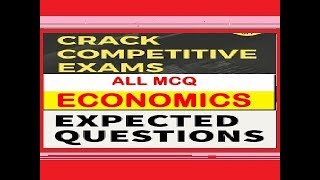 Expected Quiz on Indian Economy for IAS Exams thumbnail
