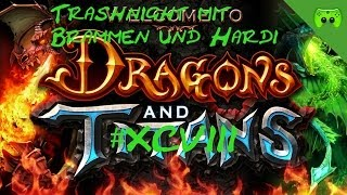DRAGONS AND TITANS # 98 - Trashnight - Let's Play Dragons and Titans   HD