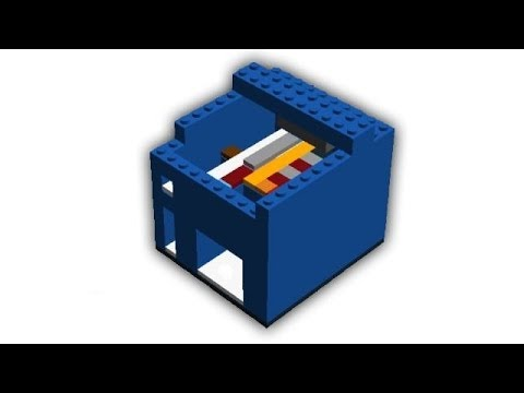 How To Build A Lego Candy Machine Coin Rejection Instructions
