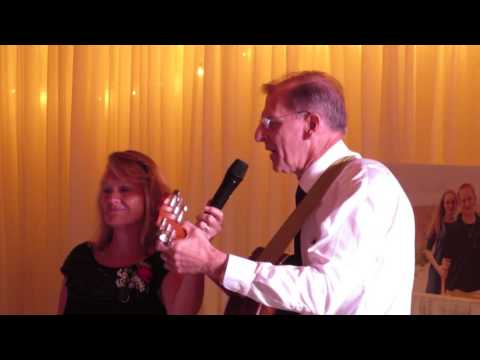 "Father of Bride Sings ""I Loved  Her First"" to his Daughter Esther at Her Wedding"