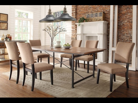 fabric dining chairs with dark wood legs designs