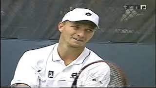 US Open 2002 Roger Federer - Jiri Vanek
