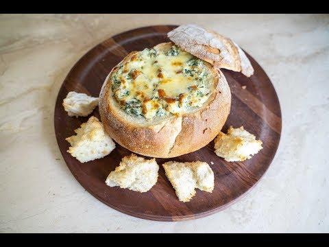 Elise's Eats - Ep 130: Spinach Dip Cobb Loaf
