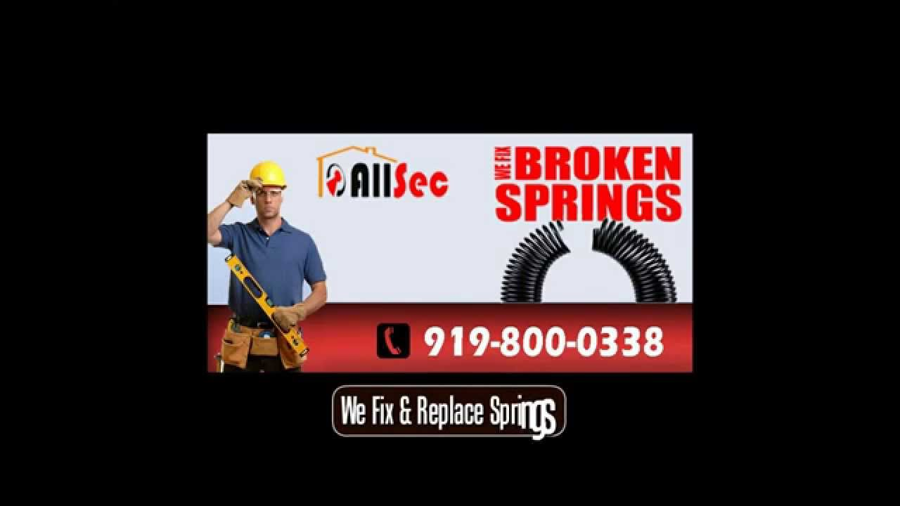 919 443 1559 | Garage Door Spring Repair U0026 Replacement In Raleigh NC
