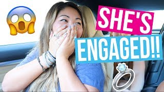 SHE'S ENGAGED!! (funny bff prank!!)