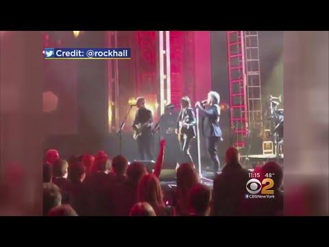 Bon Jovi Joins Rock & Roll Hall Of Fame