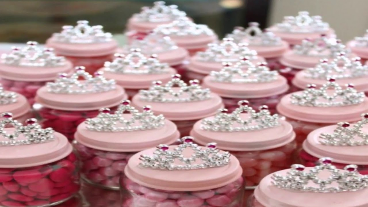Princess Baby Shower Centerpieces Ideas Youtube