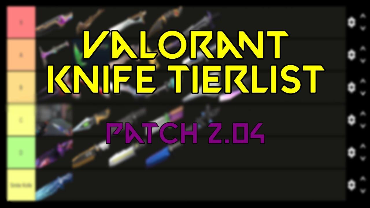 Download Valorant Knife Skin Tier List