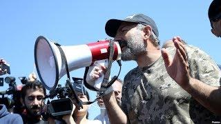 В Армении возобновилась многотысячная акция протеста / Новости