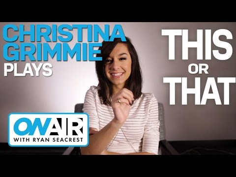 Christina Grimmie Plays This Or That | On Air with Ryan Seacrest