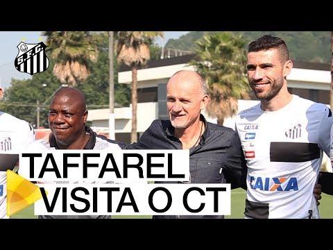 NO RADAR: Taffarel vai ao CT Rei Pelé observar Vanderlei
