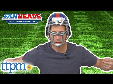 NFL Fanheads Helmet from Jakks Pacific