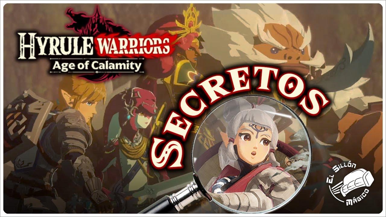 Hyrule Warriors Age Of Calamity Nuevo Trailer Espanol Latino Reaccion Analisis Y Secretos Youtube
