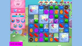 Candy Crush Saga Level 3340 5 colours NO BOOSTERS Cookie