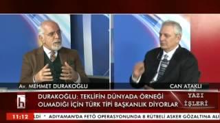 CAN ATAKLI İLE YAZI İŞLERİ / İST. BARO BŞK. MEHMET DURAKOĞLU 09 01 2017