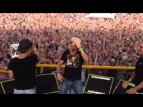 Bret Michaels ALS Ice Bucket Challenge