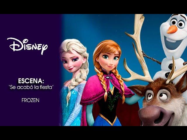 Frozen El Reino Del Hielo Escena Se Acabo La Fiesta Disney Oficial