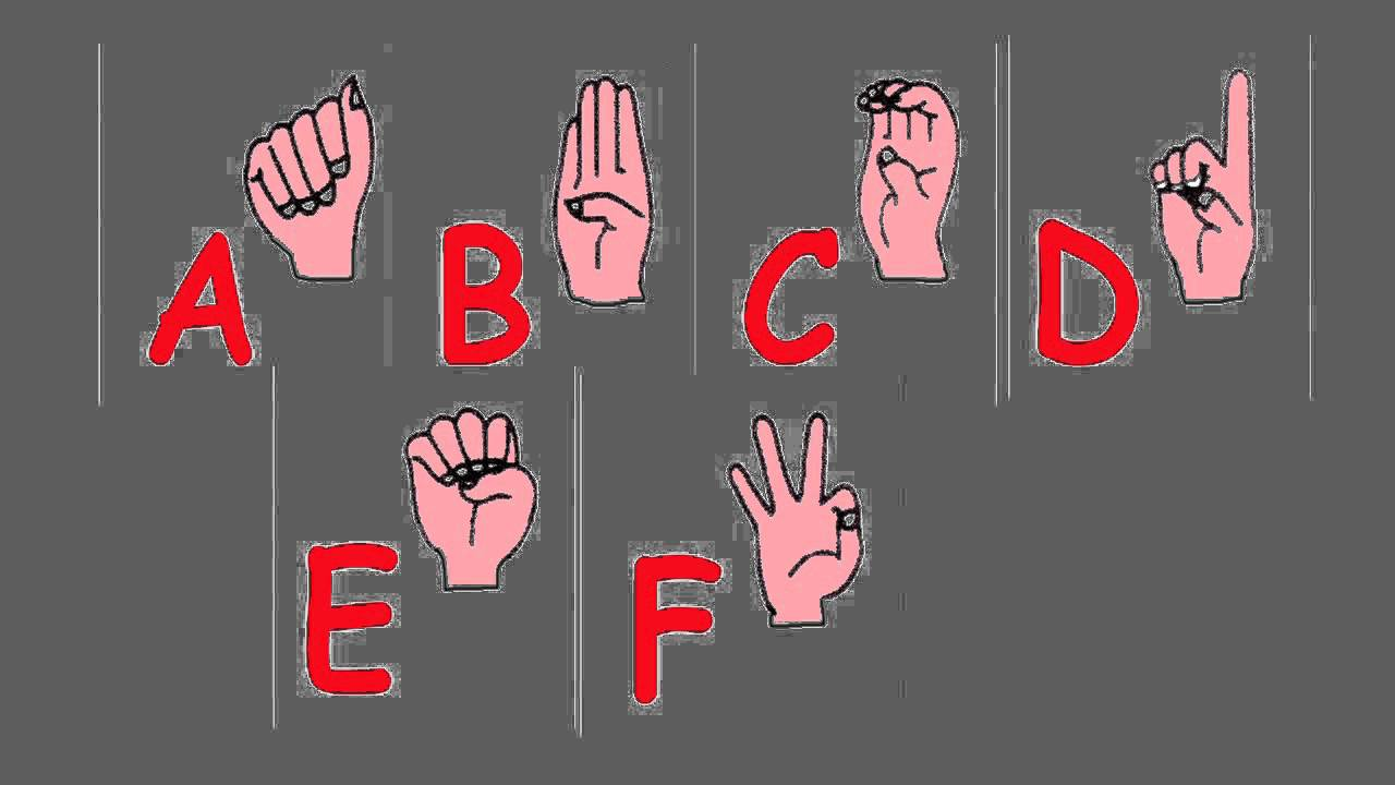 Abc Song  The Alphabet Song Using American Sign Language  Learn