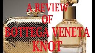 Bottega Veneta Knot EdP. Released Fall 2014.