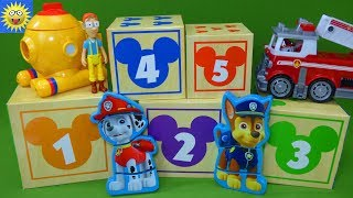 Learning Toy Video for Kids Counting for Toddlers Paw Patrol Mickey Mouse Puzzle Surprise Toys