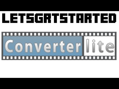 How to convert any video or audio file (ConverterLite)