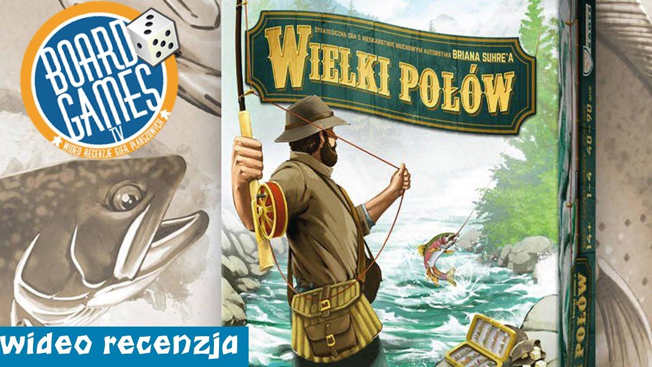 Wielki Połów - gra planszowa dla wędkarzy - RECENZJA | ZASADY