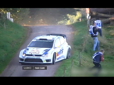 World Rally Championship 2014! Andreas Mikkelsen - Epic Save!