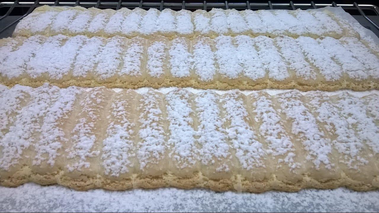 Recette buche biscuit cuiller