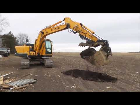 2014 Hyundai Robex 140LC-9A excavator for sale | no-reserve Internet  auction December 28, 2017