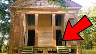 SAD ABANDONED CHURCH EXPLORED | FORGOTTEN OPEN GRAVE!!