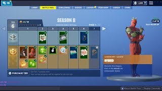 Season 8 Battle Pass Review - Fortnite Battle Royale