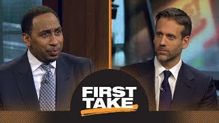 Stephen A. and Max debate if 76ers should let Joel Embiid play | First Take | ESPN