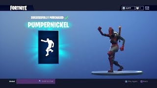 "Fortnite: 'NEW' ""PUMPERNICKEL"" DANCE EMOTE - How To Get ""Bunny Brawler"" Skin GRATUIT!"