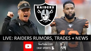 Raiders Rumors & News, OBJ Trade Rumors, Derek Carr Booed + Fire Paul Guenther & Hire Ron Rivera?