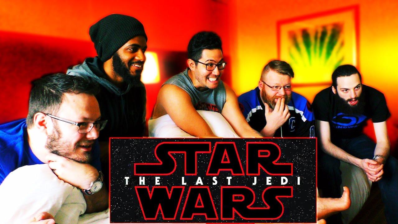 Download Star Wars: The Last Jedi Official Teaser REACTION From STAR WARS CELEBRATION!!