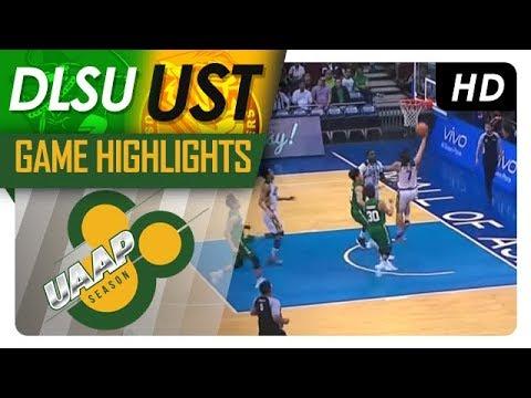 DLSU vs. UST | Game Highlights | UAAP Season 80 Men's Basketball | Oct. 29, 2017