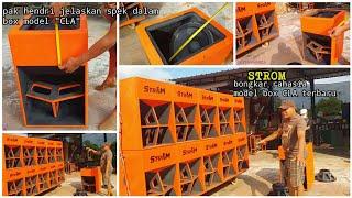"""BOX BARU """"STROM"""" CLA 80×60×50 CM.AMUNISI FULL RCF&SOUNDQUEEN."""