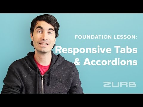 Responsive Accordion Tabs | Foundation for Sites 6 Docs