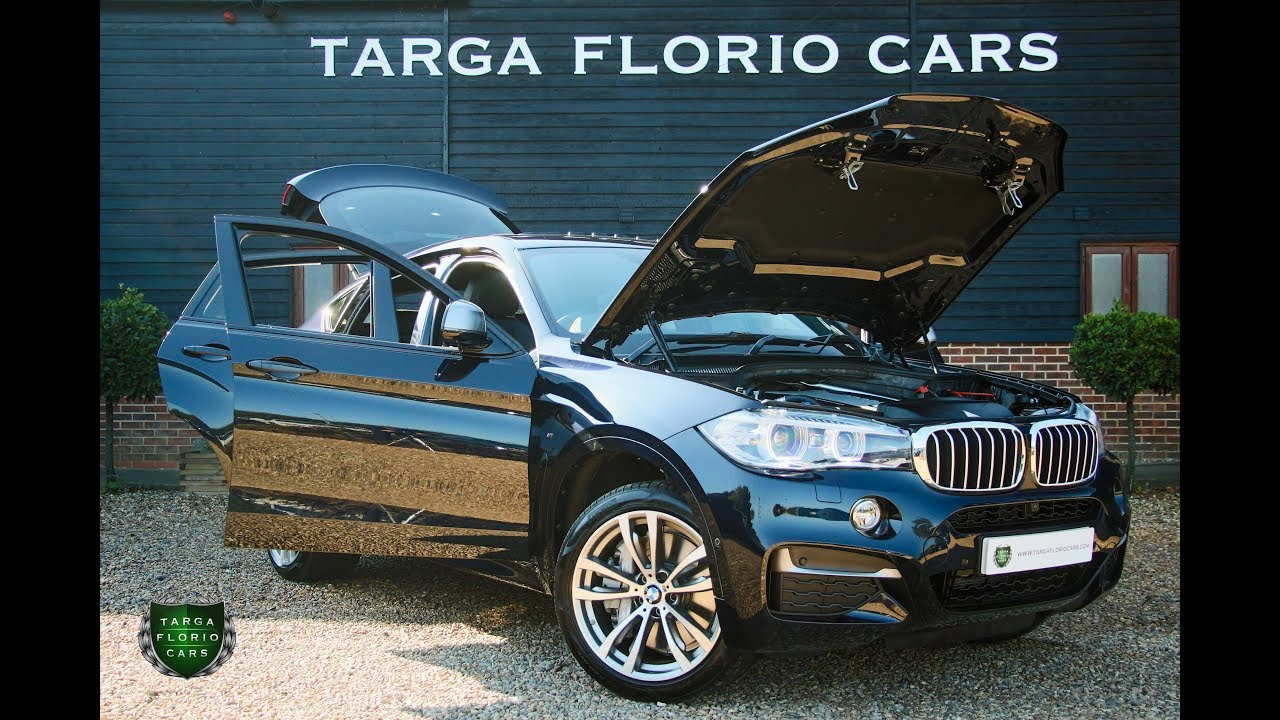 Bmw X6 Xdrive M50d 3 0 5dr Automatic Suv In Carbon Black 2018 Youtube